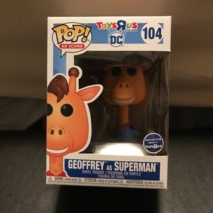 New in box Toyrus Geoffrey superman